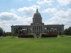 Oklahoma City Attractions   State Capitol - Oklahoma City