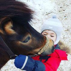 #Michael и Пирамидка. Зимний сезон субботних занятий на конюшне открыт! :) by mrs_izdato
