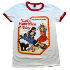 Let's Sacrifice Toby Ringer Shirt