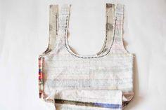 Easy Fabric Hobo Tote Bag sewing pattern & tutorial