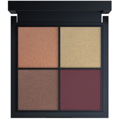 Jay Manuel Beauty Intense Color Eyeshadow Quad ($24) ❤ liked on Polyvore featuring beauty products, makeup, eye makeup and eyeshadow