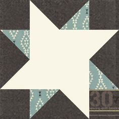 Piece N Quilt: How to: Pale Star Quilt Block...