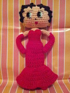 098472c7ea Betty Boop amigurumi Betty Boop Doll
