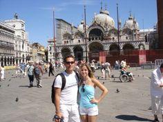 Die romantische Reise nach Venedig.