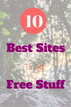 There are many websites to get free stuff from. And who wouldn't like that!  You can definitely say that being able to save money is a good virtue, but would you not agree with me that …