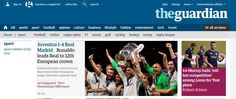 The Guardian (Inglaterra): Ronaldo lidera al Real Madrid hacia su 12ª corona