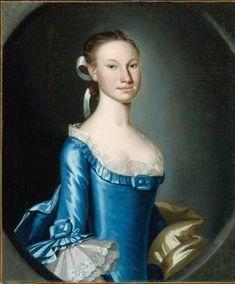 Jean Dick (Mrs. Anthony Stewart), ca. 1760's (John Hesselius) (1728-1778) Museum of Fine Arts, Boston 1993.965