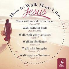 REDE MISSIONÁRIA: HOW TO WALK MORE LIKE JESUS