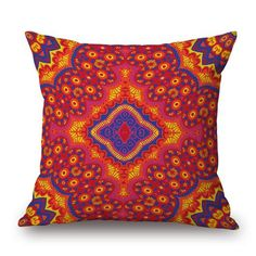 African and Bohemian Style Throw Pillow Covers Cheap Throw Pillows, Throw Pillow Covers, Decorative Throw Pillows, Quilted Pillow Shams, Bohemian Pillows, Sammy Dress, Cushions On Sofa, Bohemian Style, Print Patterns