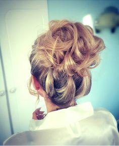 A gorgeous loose Bridal upstyle by Katie at Kreation, Sligo Stylists, Dreadlocks, Bridal, Hair Styles, Beauty, Fashion, Hair Plait Styles, Moda, Fashion Styles
