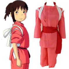 Ogino chihiro cosplay costume vêtements Japonais anime Chihiro cosplay vê Mascot Costumes, Diy Costumes, Party Costumes, Costume Ideas, Halloween Cosplay, Halloween Costumes, Halloween Ideas, Halloween Town, Halloween Crafts