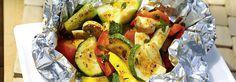 Rezept Gemuese Paeckchen Grill mit THOMY Grillprodukt