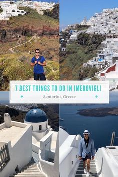 7 Best Things to do in Imerovigli Greece - 7 Continents 1 Passport Europe Destinations, Places In Europe, Europe Travel Guide, Travel Guides, Travel Advice, Greece Vacation, Greece Travel, European Vacation, European Travel