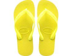 Havaianas neon yellow