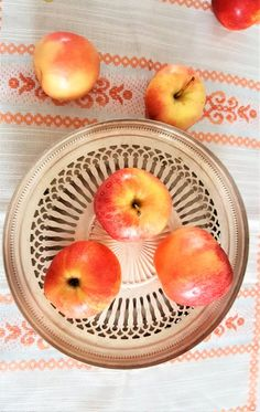 Plate, Wish You The Best, Fruit, Tray, Water Drops, Balls, Antiques, Nice, Vintage Metal