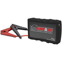 Whistler WJS3000B Jump and Go Black Portable Jump Starter