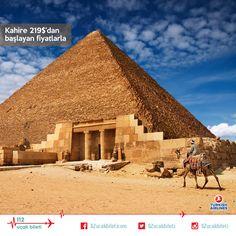 Şimdi #Ortadoğu zamanı. #Mısır'ın başkenti #Kahire'de bulunan Keops #Piramidi; Dünya'nın 7 harikasından günümüze ulaşan tek yer olma özelliğine sahip. #uçakbileti #dünyanınyediharikası