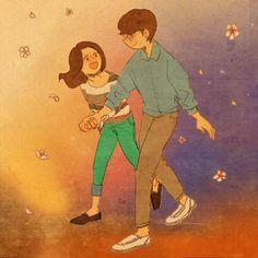 너와 함께한 순간들은 언제나 마음 따뜻한 봄이었어요.