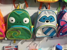 Pin for Later: See All 170+ Brand-New Toys Your Kids Will Be Begging For This Year Skip Hop Chameleon and Raccoon Backpacks Skip Hop will expand it's adorable backpack line to include a chameleon and a raccoon.