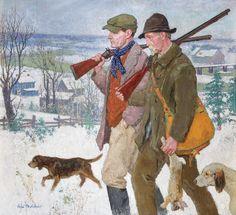 Gari Melchers, The Hunters, c. 1925