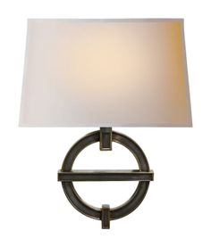 """SYMBOLIC FRAGMENT WALL SCONCE Height: 17"""" Width: 13 1/2"""" Backplate: 4 1/4"""" Round Extension: 8 1/2"""" Shade: 10 1/2"""" x 13 1/2"""" x 8 1/2"""" Rectangle Shield"""