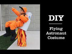 DIY Kids Flying Astronaut Halloween Costume Tutorial – Izzaroo