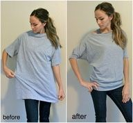 This looks like a really good productTShirt #upcycle #sewing