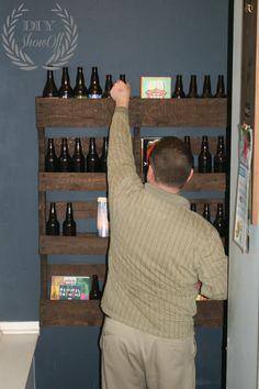Diy Pallet Shelf Tutorial