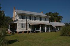 Horne Farm House Back Yard Long County GA Photograph Copyright Brian Brown Vanishing South Georgia USA 2015