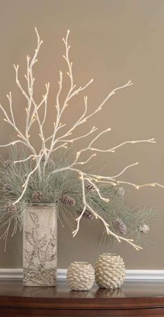 New RAZ Christmas Frosted Lighted Willow Branch 39 inches Tall FGM3000903 | eBay