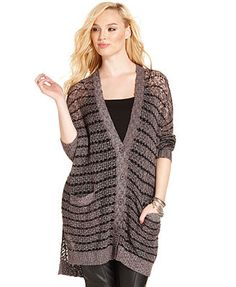 Junior's Lace Underlay Cardigan Gray | My Style | Pinterest ...