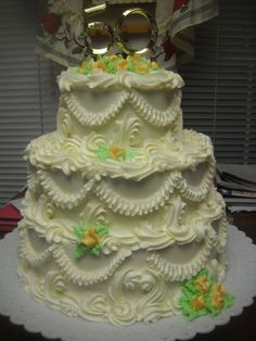 Old Fashioned Wedding Cake