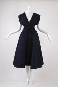Isabel Toledo Pleated Taffeta Dress