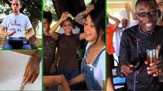 Estudiantes de la universidad Earth celebran la navidad con un villancico a ritmo tropical