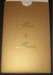 There are literally thousands of designs and patterns for wedding invitations available, and the choice can be mind-boggling. Besides, you're looking for the right embossed wedding invitation that will speak volumes about your taste