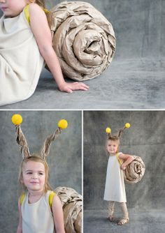 Low on time and on a budget? You can still make an awesome Halloween costume for your kids. Here's a list of last minute Halloween costumes for kids. Diy Halloween Costumes For Kids, Cute Costumes, Costume Halloween, Holidays Halloween, Cheap Halloween, Costume Ideas, Halloween Series, Halloween Clothes, Snail Costume
