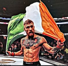 FAN-MADE ART of Irish fighter Conor McGregor : if you love #MMA, you will love the #MixedMartialArts and #UFC inspired gear at CageCult: http://cagecult.com/mma