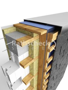 Zinc Cladding, House Cladding, Isolation Facade, Passive House Design, Wood Facade, Timber Walls, Home Insulation, Roof Trusses, Modern Tiny House