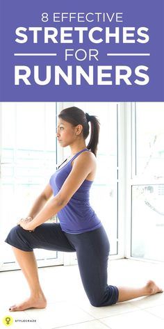 8 Really Effective Stretches For Runners That You Should Be Doing – Everyday Workout Running For Beginners, Running Tips, Trail Running, Yoga For Sciatica, Sciatica Stretches, Stretching Exercises, Post Baby Workout, Workout Tips, Workout Plans