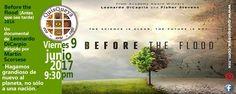 """Este viernes 9 de junio, 2017 a las 9:30 pm presentaremos en QuisQueya eco-arte-café el documental de Leonardo DiCaprio y dirigido por Martín Scorsese """"Before the flood"""". """"Hagamos grandioso de nuevo al planeta, no sólo una nación""""."""