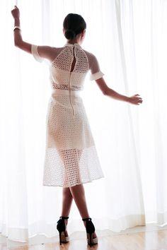 Self-portrait dress. Spring summer autumn winter