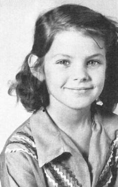 little girl Priscilla Presley