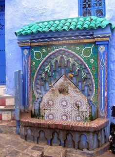 Fountain, Chefchaouen Medina