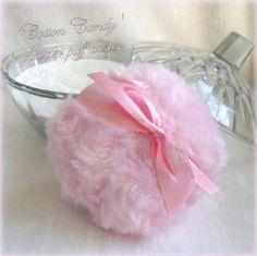 BODY POWDER SET combo cotton candy pink handmade
