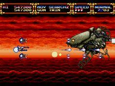Gley Lancer para Mega Drive.