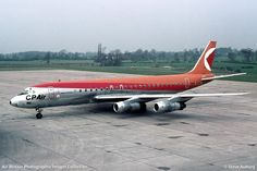 Imagen relacionada Canadian Airlines, Pacific Airlines, Boeing 707, Passenger Aircraft, Air Lines, Commercial Aircraft, Air Travel, Cool Toys, Jet Set