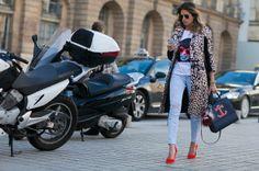 Paris Fashion Week street style, fall 2014.