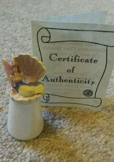 Sterling classic fairy thimble mother of pearl lustre glaze china limited ed