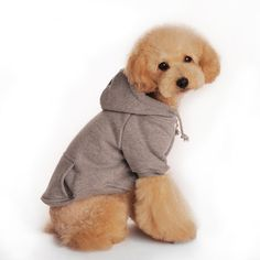 Rumas Pet Dog Autumn Hooded Design Coat Soft Pet Lovely Clothing * Check out the image by visiting the link. (This is an affiliate link and I receive a commission for the sales) #MyDog