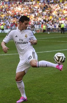 James Rodriguez of Real Madrid